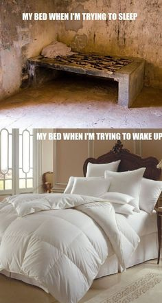 So true..especially when you are forced to get up at 5:30 in the morning -__-