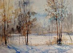 Frozen Pond by Sandra Strohschein