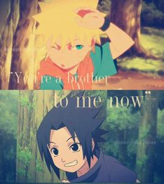 Kid Naruto & Sasuke! (back when Sasuke wasn't a dick lol)
