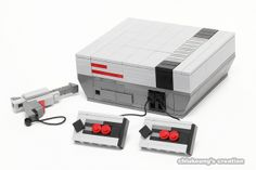 LEGO NES - by chiukeung, via Flickr