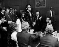 SPECIAL AWARD: Elvis & Cilla - Jaycees party at Graceland