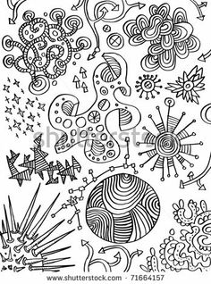 Love this! Cute Doodle Set Of People And Roses - Vector - 133460768 : Shutterstock