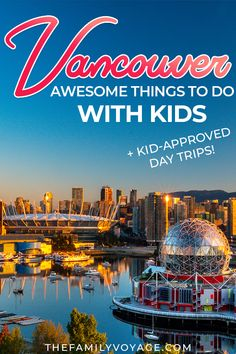 Heading to Vancouver with kids? Don't miss these kid-tested favorite things to do in Vancouver plus plenty of things to do in British Columbia if you have time! From fresh mountain air to city skylines there's something for everyone! Vancouver British Columbia, Vancouver Travel, Traveling With Baby, Travel With Kids, Family Travel, Quebec, Vacation Trips, Day Trips, Vacations