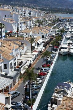 Puerto Banus Town, Marbella, Malaga - Spain