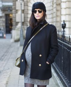 Maternity winter wear