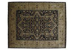 12'x15' Polonaise Rug, Black on OneKingsLane.com