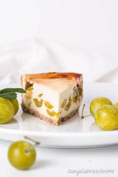 Rezept für einfachen Mirabellenkäsekuchen mit Quark und Schamnd.Bbesser könnt ihr Mirabellen nicht verarbeiten als in diesem einfachen Nachtisch. #backen #quark #schmand #kuchen #mirabellen #sommer #rezepte #verarbeiten #einfach Brown Sugar, Cheesecake, Pudding, Desserts, Food Porn, Blog, Pie, Rolled Oats, Light Cakes