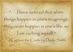 I Capture the Castle by Dodie Smith                 -amber*