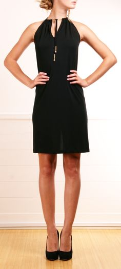 La Perla Black Halter Dress <3