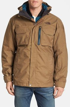 The North Face 'Gilmore TriClimate®' Waterproof 3-in-1 Ski Jacket available at #Nordstrom