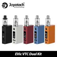 Original Joyetech eVic VTC Dual with ULTIMO Start Kit 75W 150W eVic VTC Dual Mod & 4ml ULTIMO Atomizer Tank Vape without Battery