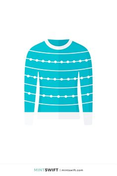 Red Christmas Jumper, Teal Christmas, Web Design Packages, Brand Icon, Flat Design Illustration, Business Checks, Graphic Design Tutorials, Vector Illustrations, New Kids