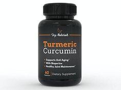 Turmeric Curcumin 60 CT by Ivy Naturals || Effective Turmeric Curcumin || 95% Curcuminoids Enhanced with BioPerine || Boost Antioxidants || Anti-Inflammatory || 100% Satisfaction Guarantee