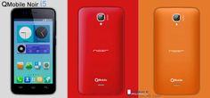 'QMobile NOIR i5', available in Black, Yellow, Red, Orange, skyblue, white, light green for details visit: http://www.mobile.shineoflife.com/qmobile-noir-i5-multi-colour.html. #mobile #smartphone #news #updates #latest #qmobile #noir #i5 #qmobilenoiri5 #android