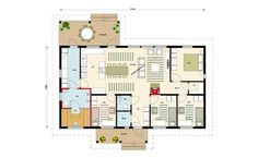 Future House, Bungalow, House Plans, Floor Plans, How To Plan, House Ideas, House Floor Plans, Floor Plan Drawing, Craftsman Bungalows