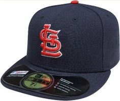 f698215541bbf MLB St. Louis Cardinals Authentic On Field Away 59FIFTY Cap by New Era, http
