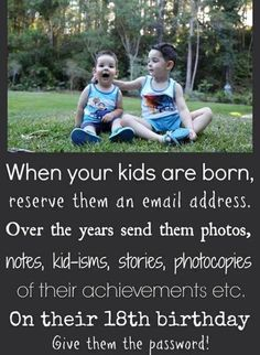 Great idea for parents who have lost contact with their children - Children, problems, school, daycare, behavior, age, teenagers, infants - ...