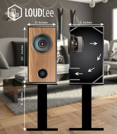 Diy Audiophile Speaker - building home theater speakers diy speaker projects how to make homemade audiophile kits and plans mg jim holtz statements best ideas pure audio project baffling new build code magazine your own kit Diy Bookshelf Speakers, Wooden Speakers, Built In Speakers, Monitor Speakers, Audio Speakers, Hifi Audio, Subwoofer Box Design, Speaker Box Design, Homemade Speakers
