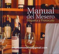 LIBROS: MANUAL DEL MESERO etiqueta y protocolo
