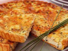 Découvrez la recette Tarte au saumon : la meilleure recette sur cuisineactuelle.fr.