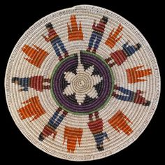 Navajo Fire Dance Basket - Mary Holiday Black (#302) - Product ...