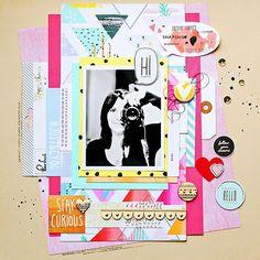Hello  @marinette_scrap here to share with you a LO using our #august2015 kits  @hipkitclub #hipkits #hipkitclub #scrapbooking #scrapbookkits #august2015 #kits @aflairforbuttons @pinkfreshstudio @studio_calico @cratepaper