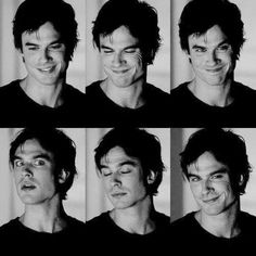 Utterly charming.  Ian Somerhalder / Tumblr