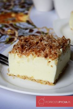 Ciasto śnieżny puch Food Cakes, Jello, Tiramisu, Mousse, Food To Make, Cake Recipes, Cheesecake, Food And Drink, Sweets