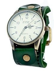Unisex Vintage Big Dial Leather Band Quartz Analog Wrist Watch (Assorted Colors)Buy A Super Watch For Your Super Moms On This Mothers Day! Utilize Online Coupon Codes To Avail Maximum Discounts.