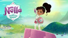 Nickelodeon USA To Premiere Nella The Princess Knight Soon; Launches Official Show Website! Clash Of Clans, Nella The Princess Knight, Barbie Em Paris, 2000 Cartoons, Knight Party, Female Knight, Win Tickets, Nick Jr, Tv Reviews
