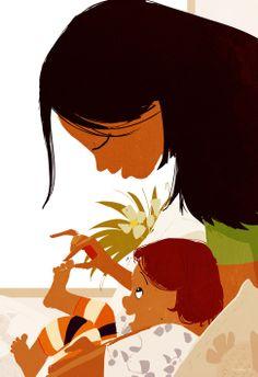 Ilustración de Pascal Campion