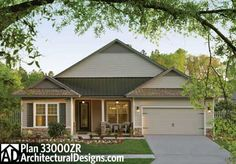 Plan W33000ZR: Award Winning Energy Saving House Plan - Kitchen is a little small but we could adjust that.