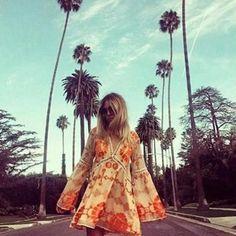 Gracie Boho Mini Chiffon Dress - 2 Colors