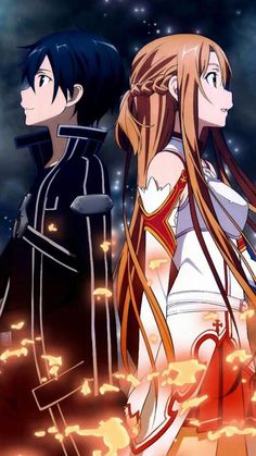 Kirito and Asuna | Sword Art Online