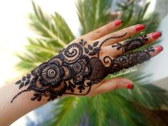 Henna Tattoos, Henna Mehndi, Henna Art, Mehendi, Arabic Henna Designs, Mehndi Designs For Fingers, Bridal Henna Designs, Stylish Mehndi Designs, Beautiful Henna Designs