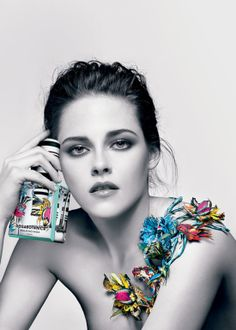 Kristen Stewart Rosabotanica Ad for Balenciaga