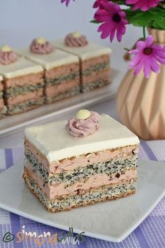 Romanian Desserts, Romanian Food, Cookie Recipes, Dessert Recipes, Food Cakes, Something Sweet, Bacon, Sweet Treats, Food And Drink