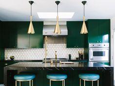 Interior Trend: Emerald Green #granddesigns #interior #trend #green #emerald #improvements