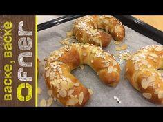 Rezept für ca. Ober Und Unterhitze, Bagel, Doughnut, Food And Drink, Bread, Make It Yourself, Desserts, Foodies, Youtube