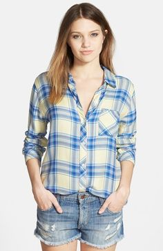 Rails 'Hunter' Plaid Shirt available at #Nordstrom