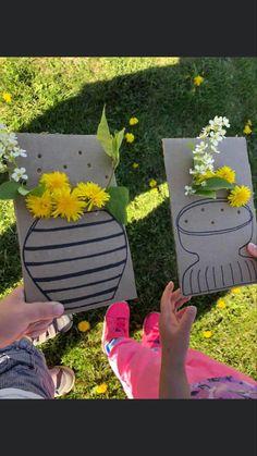 Nature Activities, Spring Activities, Craft Activities For Kids, Infant Activities, Family Activities, Forest School Activities, Early Childhood Activities, Teaching Activities, Preschool Crafts