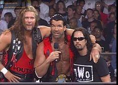 Kevin Nash, Scott Hall, and Sean Waltman Nwo Wrestling, Wrestling Divas, Wwf Superstars, Wrestling Superstars, Wrestlemania 20, Scott Hall, Chris Benoit, Kevin Nash
