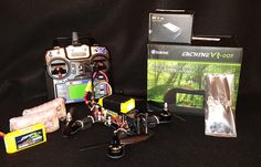 Tweaker 210 Mini Racing Quadcopter Drone w/5.8ghz VR-007 Goggles/ Ready to Fly / by SHaC2015 on Etsy - Get your first quadcopter today. TOP Rated Quadcopters has the best Beginner, Racing, Aerial Photography, Auto Follow Quadcopters on the planet and more. See you there. ==> http://topratedquadcopters.com <== #electronics #technology #quadcopters #drones #autofollowdrones #dronephotography #dronegear #racingdrones #beginnerdrones