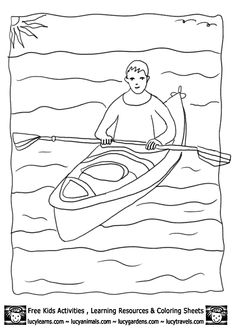 Ice Fishing coloring page Kids Nature Activities Quebec