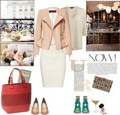 Peplum kožna jakna u 4 kombinacije Leather Peplum, Leather Pumps, Leather Jacket, Peplum Jacket, Suit Jacket, Fresh Girls, Girl Outfits, Fashion Looks, My Style