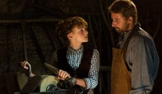 Carey Mulligan as the strong but fallible Bathsheba and Matthias Schoenaerts as the strong, silent and long-suffering Gabriel in Far From the Madding Crowd ... women always suffer in Hardy's novels ... there is no freedom in Hardy's Great Outdoors