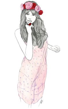shu84: Hélène Cayre Fashion Illustrations