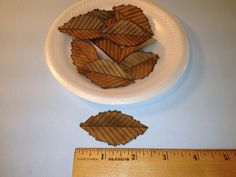 Leaves, Primitive Paper Leaves, Scrapbooking Embellishments, Cards, Tags, Journals, Collage, Altered Art, PAFA