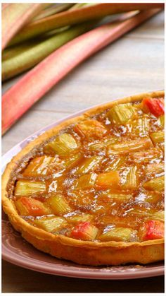 Discover recipes, home ideas, style inspiration and other ideas to try. Pie Recipes, Sweet Recipes, Dessert Recipes, Rhubarb Tart, Torte Recipe, Sandwich Cake, Sweet Pie, No Cook Desserts, Dinner Is Served