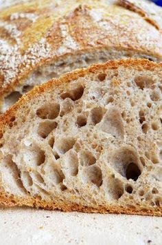 Удачная попытка (хлеб Чада Робертсона) Bulgarian Recipes, Home Bakery, Fermented Foods, Artisan Bread, How To Make Bread, No Cook Meals, Bread Recipes, Food And Drink, Favorite Recipes